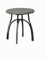 «Forli». Стол из искусственного ротанга, D 70 см.