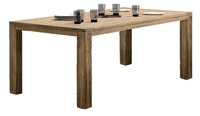 «Vitoriya». Обеденный стол из тика, 200х100х77 см.