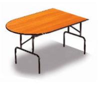 """""""C7.ILD"""". Приставная полуовальная секция стола."""