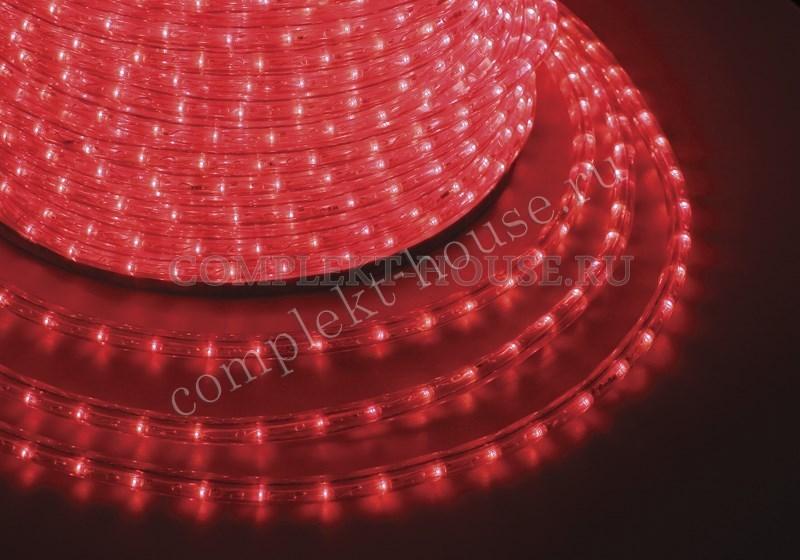 Дюралайт светодиодный, постоянное свечение(фиксинг) 2W, бухта 100м
