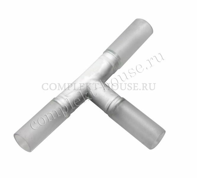 Муфта Т – коннектор для дюралайта LED 3W, 13 мм