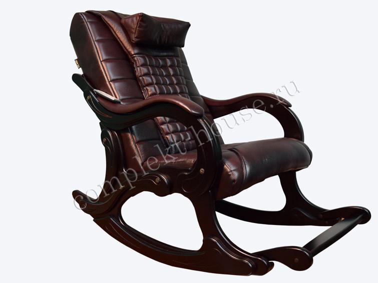 """""""WAVE EGO"""". Массажное кресло-качалка LUX (цвет Антрацит)."""