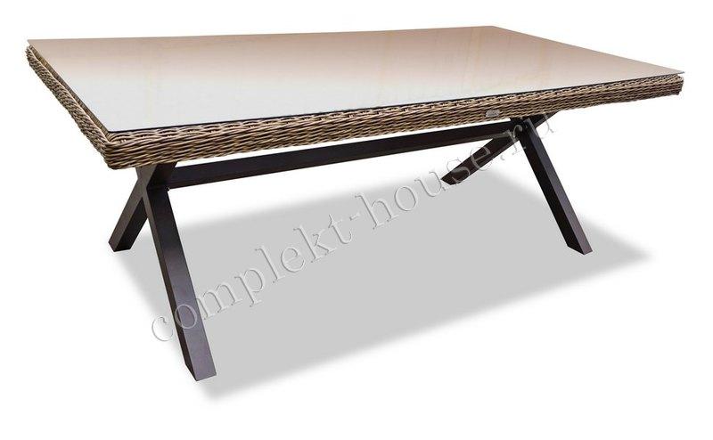 """Opal"". Стол обеденный, 210х100х75 см."