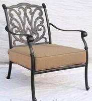 """""""Belgravia"""". Кресло из литого алюминия."""