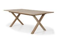 """Brutus"". Тиковый стол, размер 200/265х100 см."