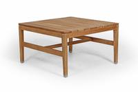 """Elati"". Кофейный столик из тика (90х90х50 см)."