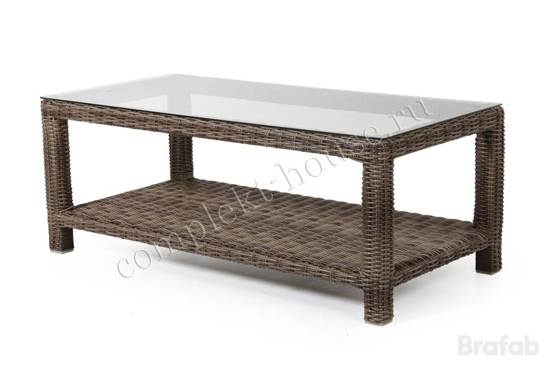 """Ninja-brown"". Кофейный столик, 120х60 см."