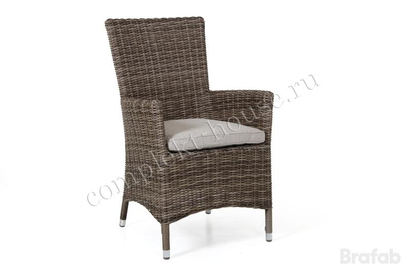 """Ninja-brown"". Плетеный кресло."