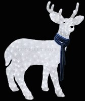 """""""Северный олень"""". 3D акриловая светодиодная фигура."""