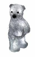 """""""Медвежонок 22 см"""". 3D акриловая светодиодная фигура."""