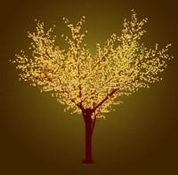 """Сакура"". Светодиодное дерево. Высота 3,6 м."
