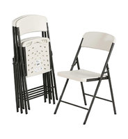 """Ltime"". Пластиковый стул на металлическом каркасе."