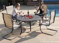 """""""Etna"""". Комплект мебели со столом барбекю."""