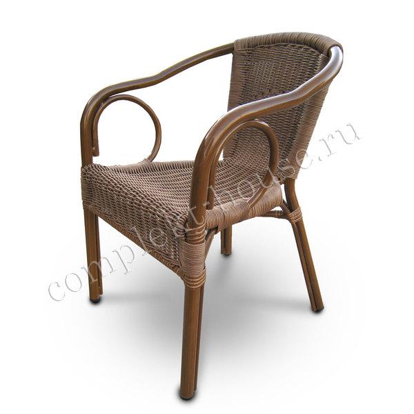 """""""Sofi"""". Кресло из искусственного ротанга."""