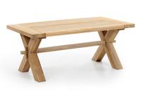"""Everest"".Тиковый стол, размер 120x65х50 см"