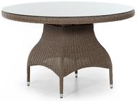 """Ninja"". Плетеный стол, диаметр 120 см ."