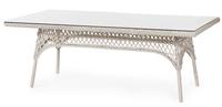 """Beatrice"". Плетеный стол, размер 220х100 см."