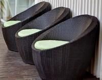 """""""Tullon"""". Кресло из искусственного ротанга."""
