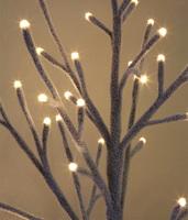 """Изморозь"". Светодиодное дерево 1м (96 LED)"