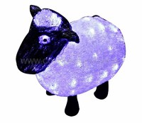 """""""Овца"""". Акриловая светодиодная фигура 30см"""