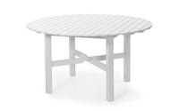 """""""Lysekil"""". Стол из сосны, круглый, цвет белый, диаметр 135 см, высота 74 см."""