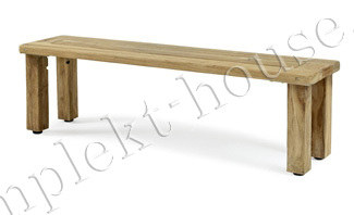 """Rusteak"". Скамейка, тик,153x37 см."