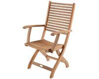 """Calcutta"".Кресло из тика, раскладное."