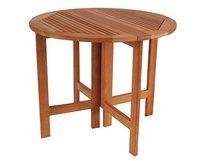 """""""Ibiza"""".Круглый стол, тик, диаметр 90 см."""