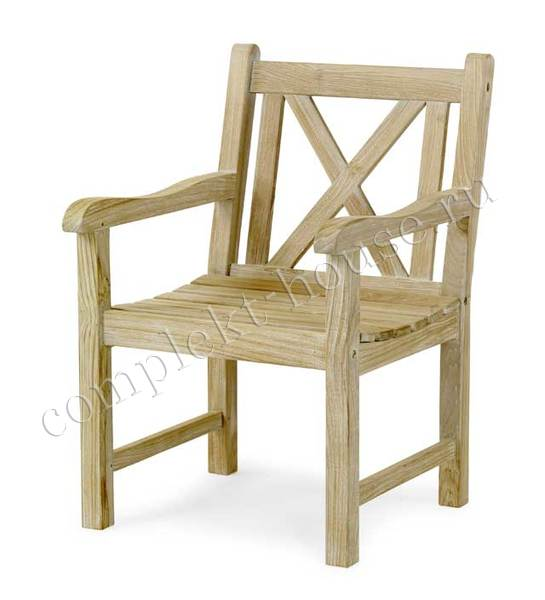 """Madras"".Кресло из тика."