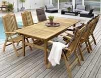 """""""Neapel"""". Стол из тика, раздвижной, размер 230-305x100 см."""