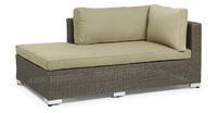 """""""Ninja"""". Плетеный диван-шезлонг, правый."""