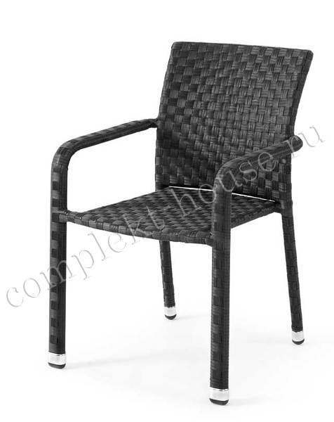 """Colico"". Плетеное кресло, штабелируется."