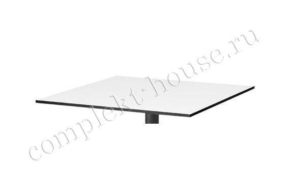 """Avila"".Столешница, ламинат, цвет серый, размер 80х80 см."
