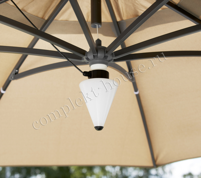 """""""Easy Sun"""". Лампа для зонта."""