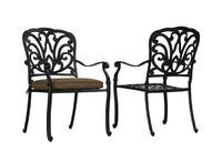 """""""Belgravia"""". Кресло обеденное из литого алюминия."""