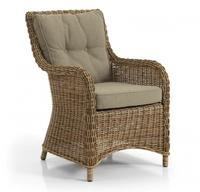 """""""Modesto"""". Кресло из искусственного ротанга."""