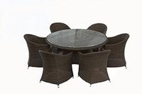 """Malaga"". Стол обеденный, d 150 см."