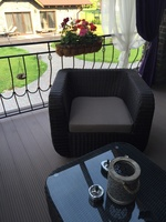 """""""Stockholm"""". Кресло плетеное."""