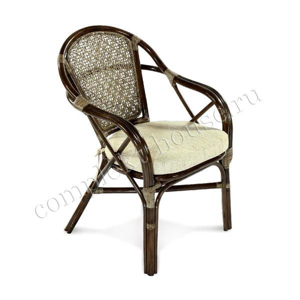 """""""EcoElen"""". Кресло из натурального ротанга."""