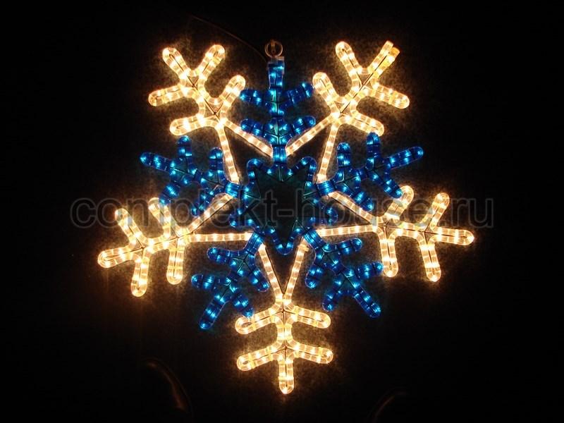 Снежинки, звезды