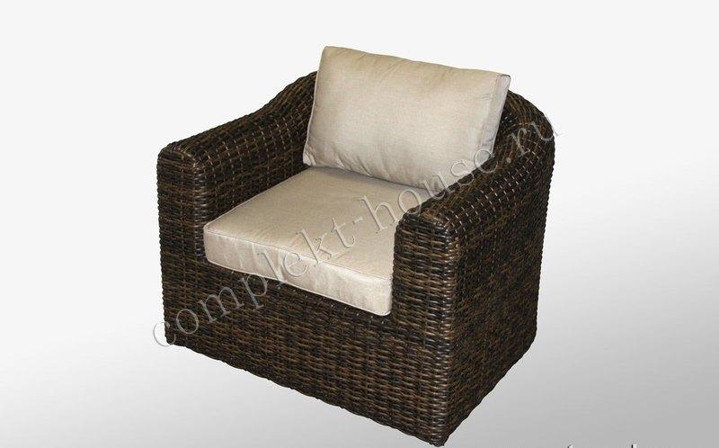 Кресло из искусственного ротанга Malaga
