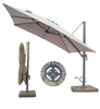 """Torino-Lux"". Уличный зонт, D 3м."