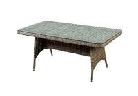 """Veneto"". Стол из искусственного ротанга,180х90х70 см."
