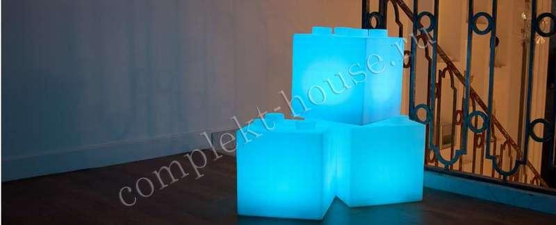 """""""Cube300"""". Светодиодный светильник (300х300х300 мм)."""