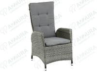 """""""Menorca"""". Плетеное кресло с откидной спинкой."""