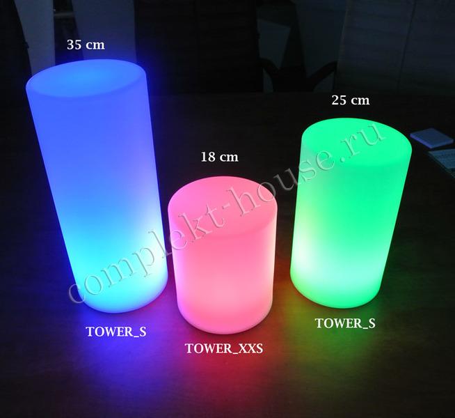"""""""Tower S"""". Светодиодный светильник."""