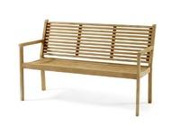 """""""Canberra"""".Скамейка из тика,  длина 140 см."""