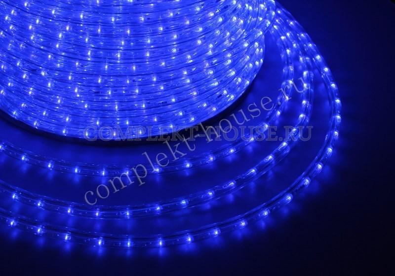 Дюралайт светодиодный, эффект мерцания (чейзинг) 2W, бухта 100м
