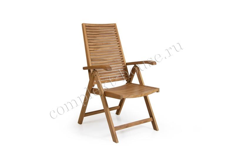 """""""Volos"""". Складное кресло из тика."""