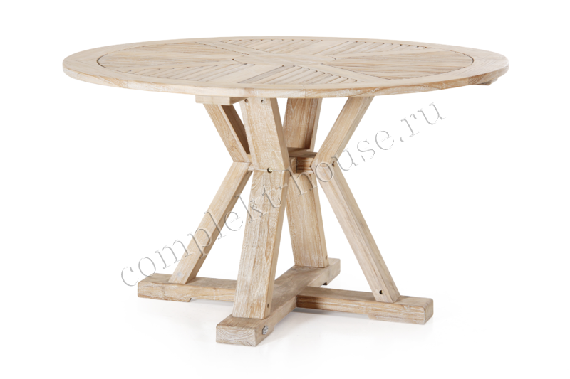 """""""Circus"""".Тиковый стол, диаметр 130 см."""